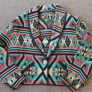 Southwestern Jacket Woven Tapestry